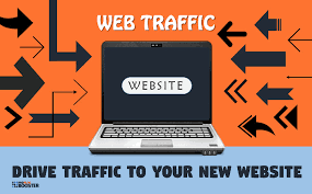Drive traffic to your new website